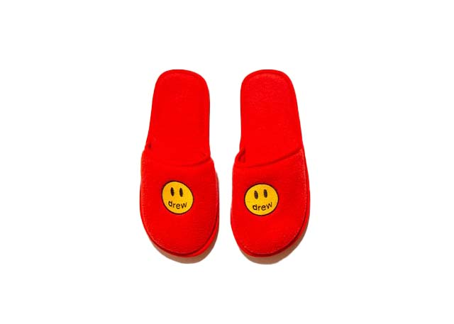 Pre-owned Drew House Mascot Slippers Red