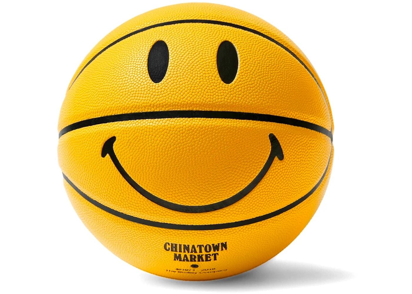 Chinatown Market Smiley Basketball Yellow - 2019