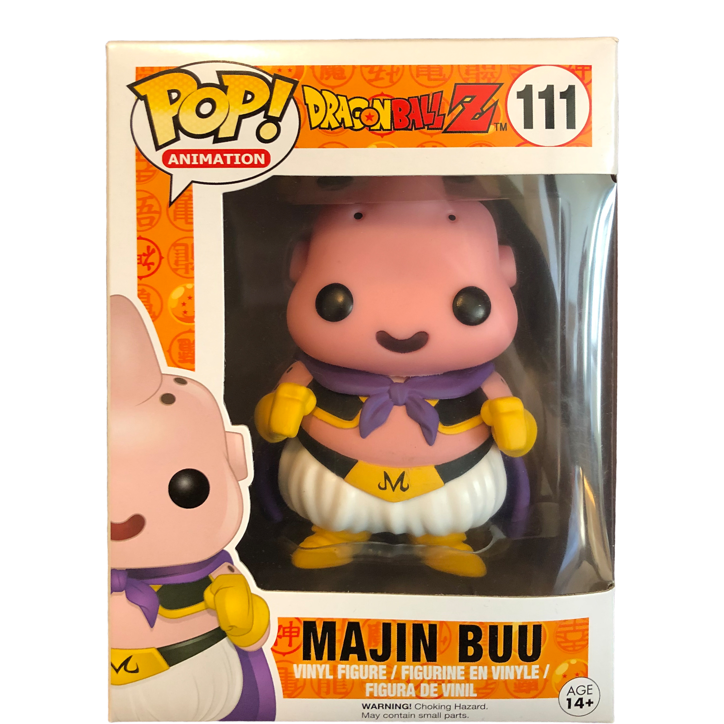 Funko Pop Animation Majin Buu Vinyl Figure Item #7429 Dragonball Z