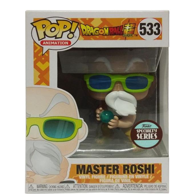 Funko Pop Dragon Ball Suoer Master Roshi Specialty Series