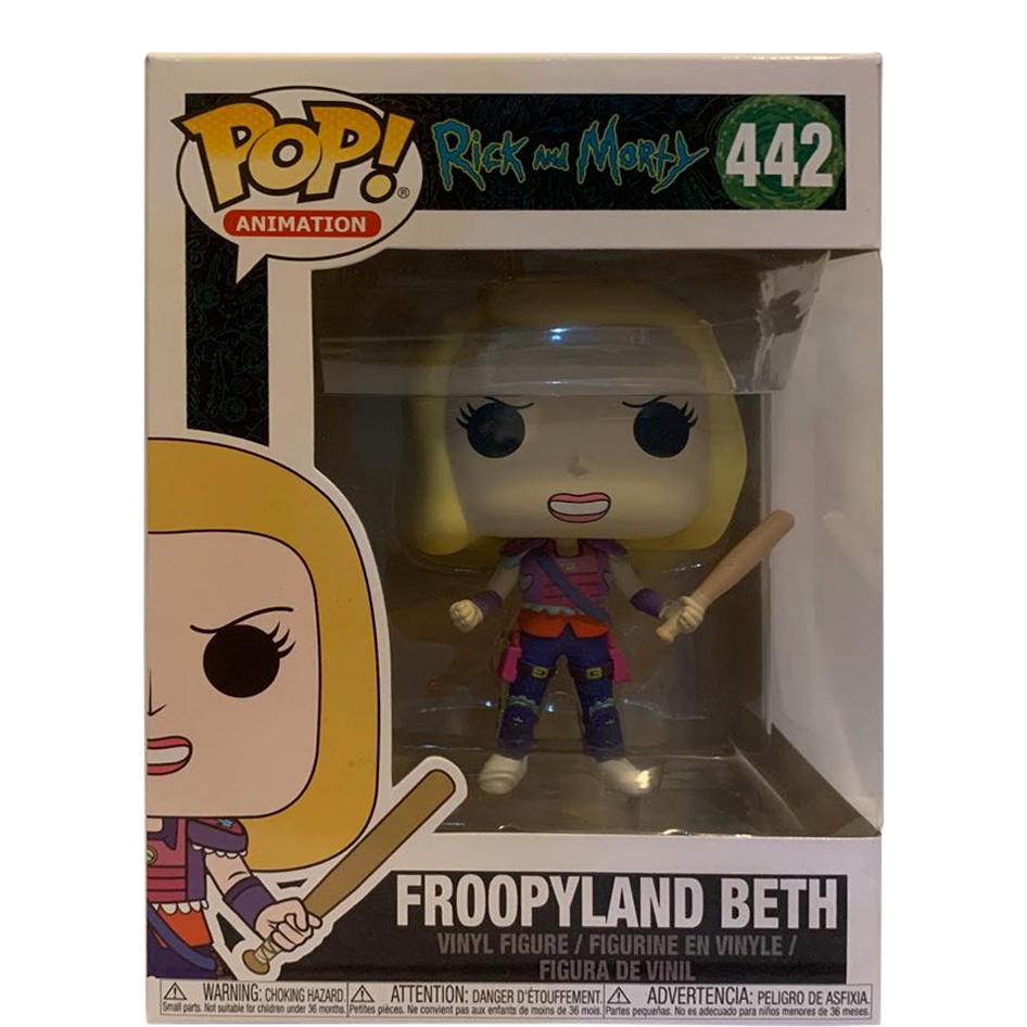 FROOPYLAND BETH FUNKO POP RICK /& MORTY VINYL FIGURE #442