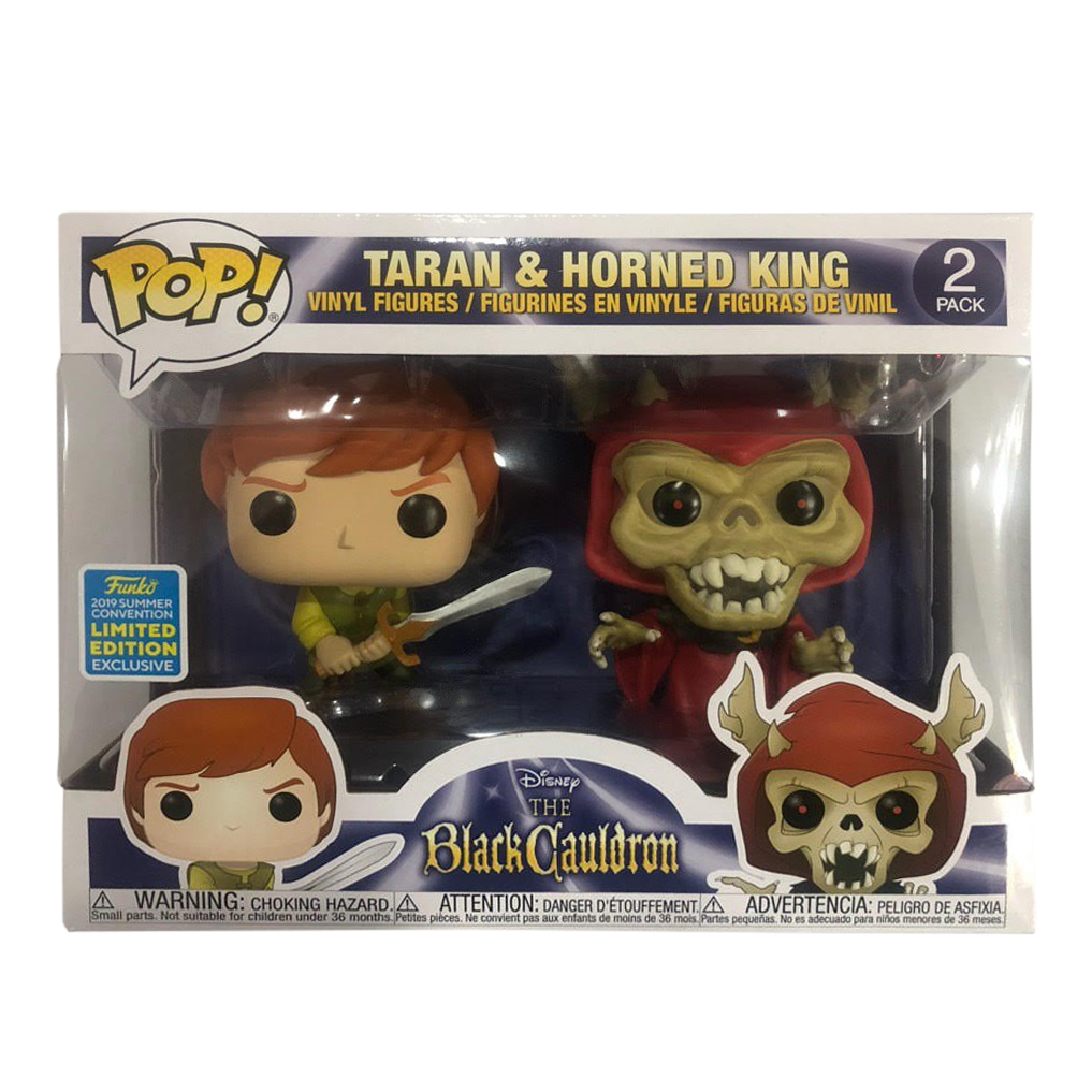 Taran /& Horned King Summer Convention Exclusive POP FUNKO The Black Cauldron