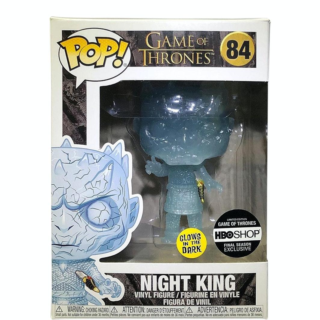 GAME OF THRONES S8 Cristallo Notte King Figura #084 Funko Pop Vinile
