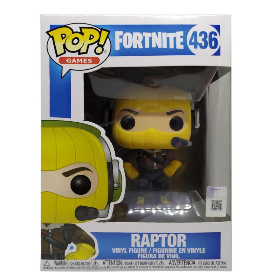 Funko Pop Vinyl-fortnite-Raptor 436