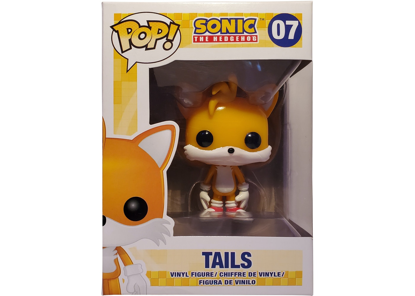 Funko Pop Games Sonic The Hedgehog Miles Tails Prower Figure 07