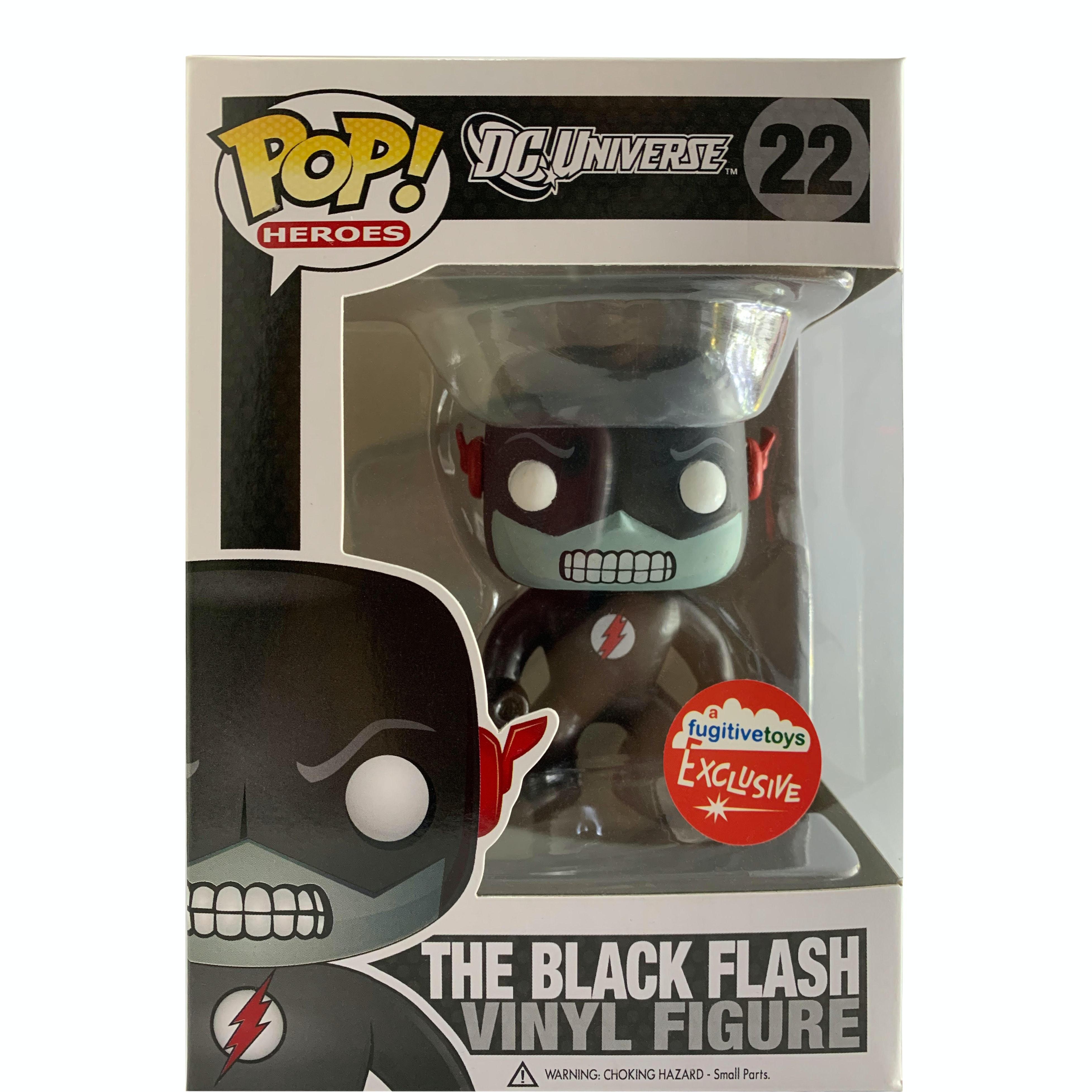 Funko Pop Heroes Dc Universe The Black Flash Fugitive Exclusive Figure 227