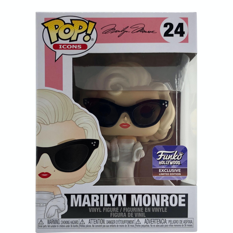 Funko Marilyn Monroe Pop Vinyl Pop Icons #24 Pop Figure