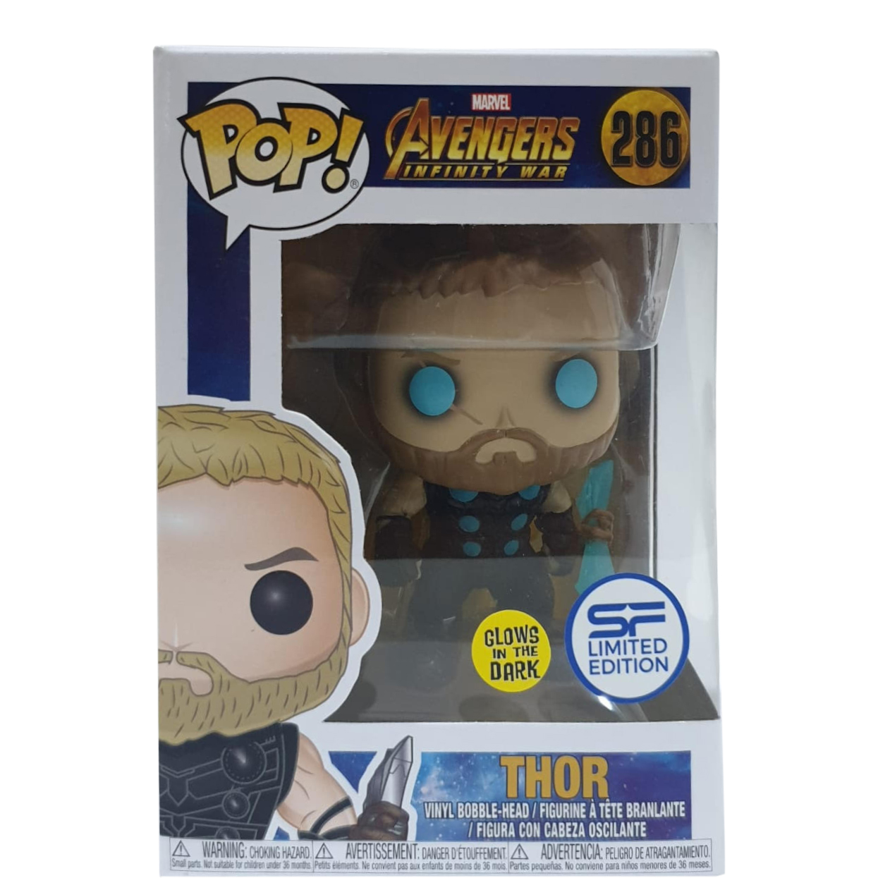 Avengers Infinity War Thor POP Marvel #286 Vinyl Figure FUNKO