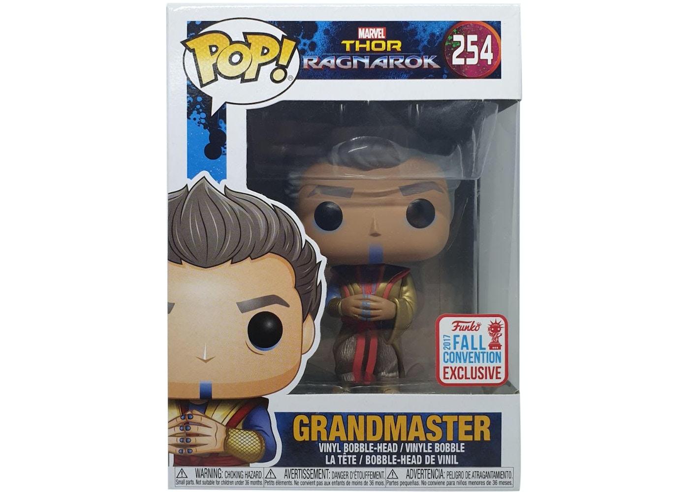 Funko Pop! Marvel Thor Ragnarok Grandmaster Fall ...