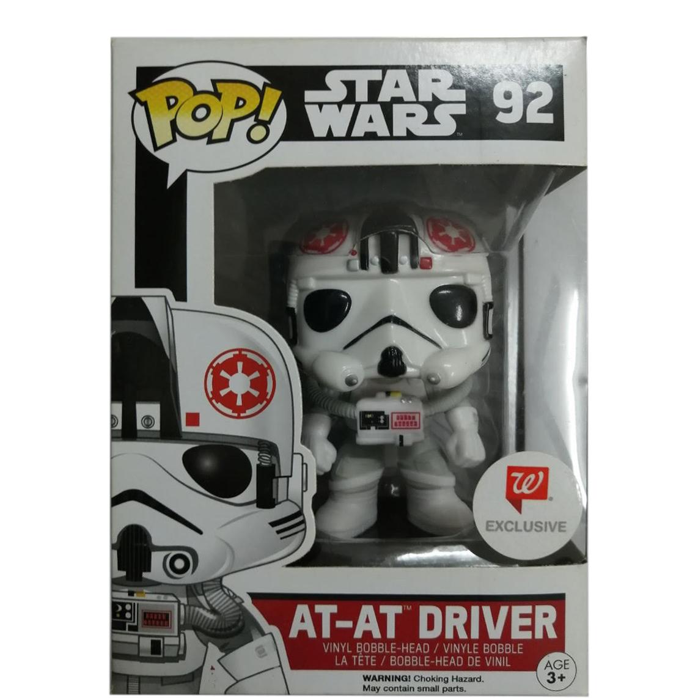 Bobble-Head Vinyl Figure Star Wars Exclusive Funko Pop AT-AT Driver