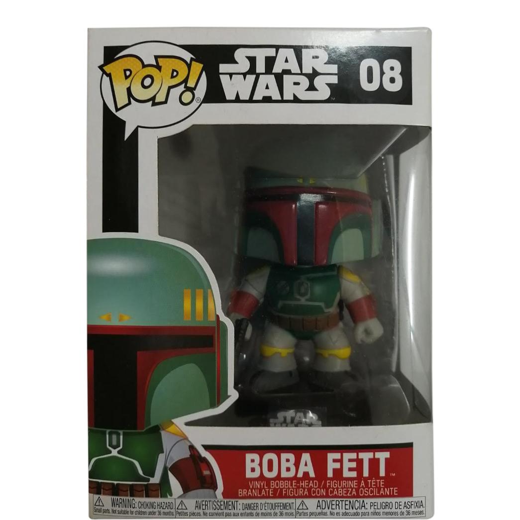 Funko Vinyl Figure bobble-head n° 08 Star Wars Boba Fett Pop