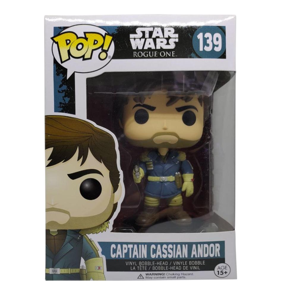 Star Wars Capitaine Cassien Andor #139 Collectible Bobble Head Funko Pop