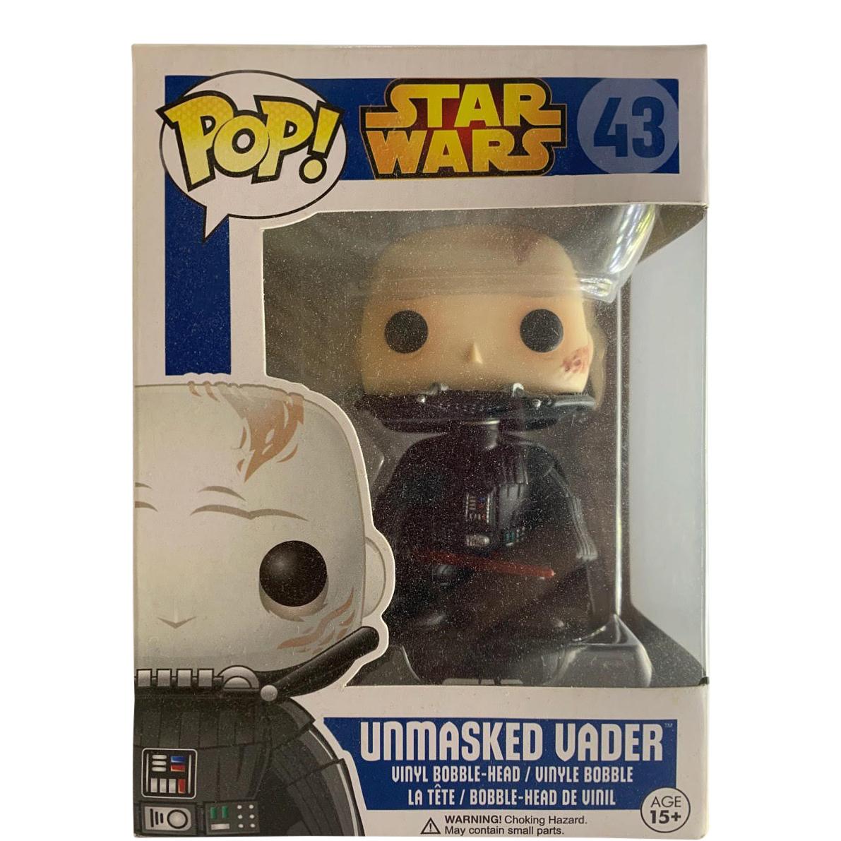 FUNKO POP UNMASKED Vader Star Wars Bobblehead Figura 43
