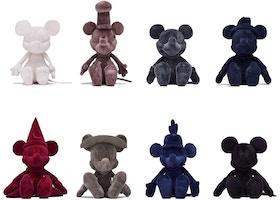 Kith x Disney Plush Through the Ages (Box set of 8) Multi
