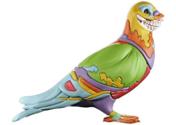 Mighty Jaxx x Staple x Ron English Pigeon Figure -