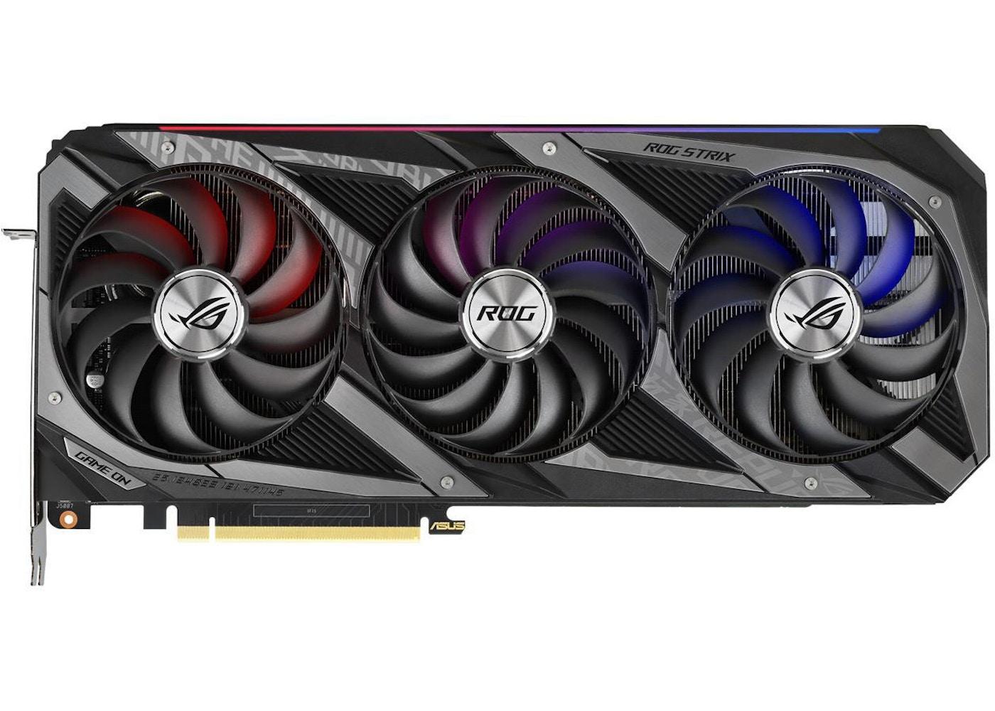 NVIDIA ASUS ROG Stric GeForce RTX 3080 (ROG-STRIX-RTX3080-10G-GAMING)