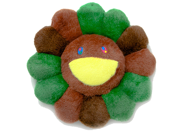 Takashi Murakami Flower Plush 30CM Green/Brown/Light Brown