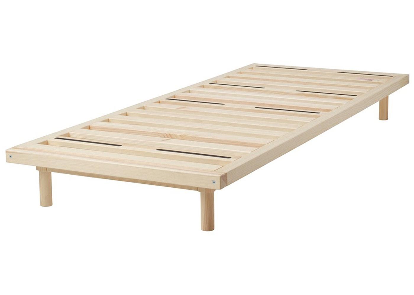 Virgil Abloh x IKEA MARKERAD Bed Frame Brown