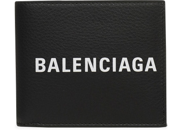 64ce1fdcad Balenciaga Everyday Square Wallet Black/White