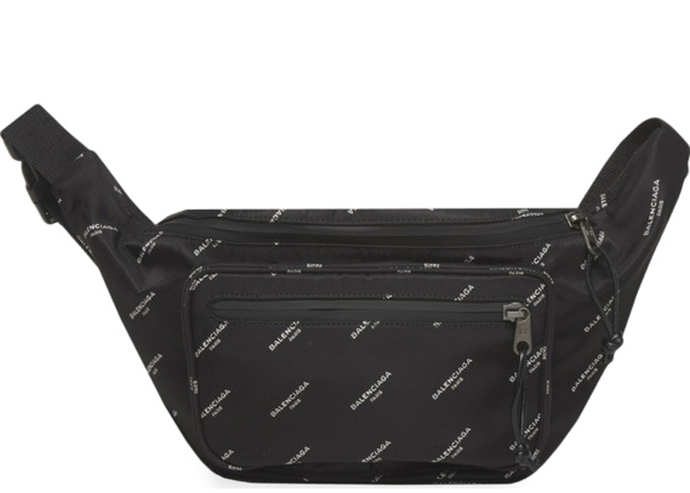 079cb3ab4591 Balenciaga Explorer Belt Bag Logos Black. Logos Black