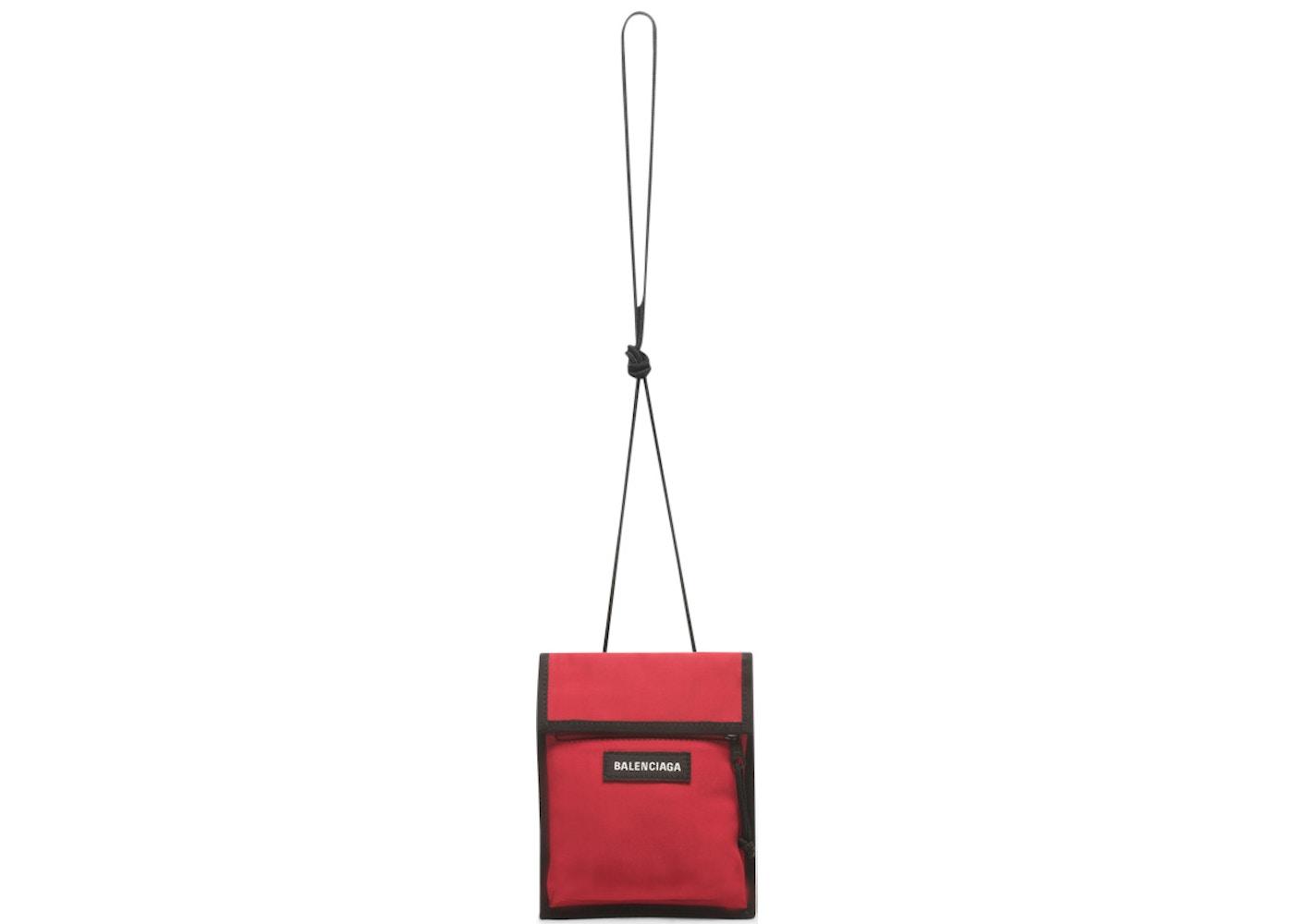 32a0ecd1d9 Balenciaga Explorer Pouch Strap Small Red/Black