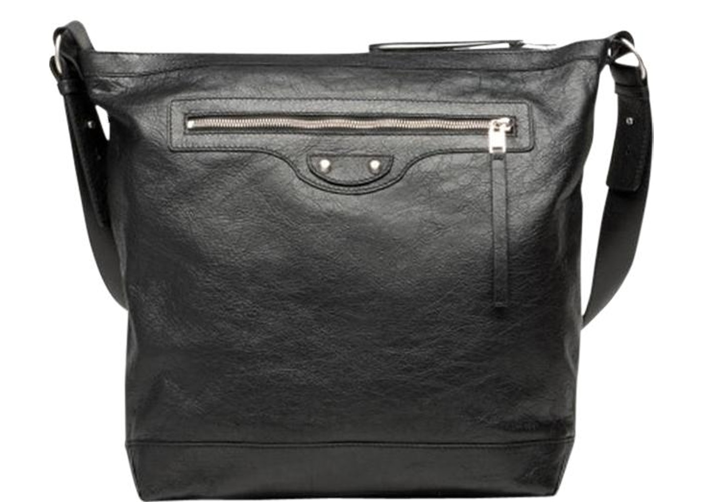 bb6f89c55ef50 Balenciaga Messenger Bag Classic Black. Black
