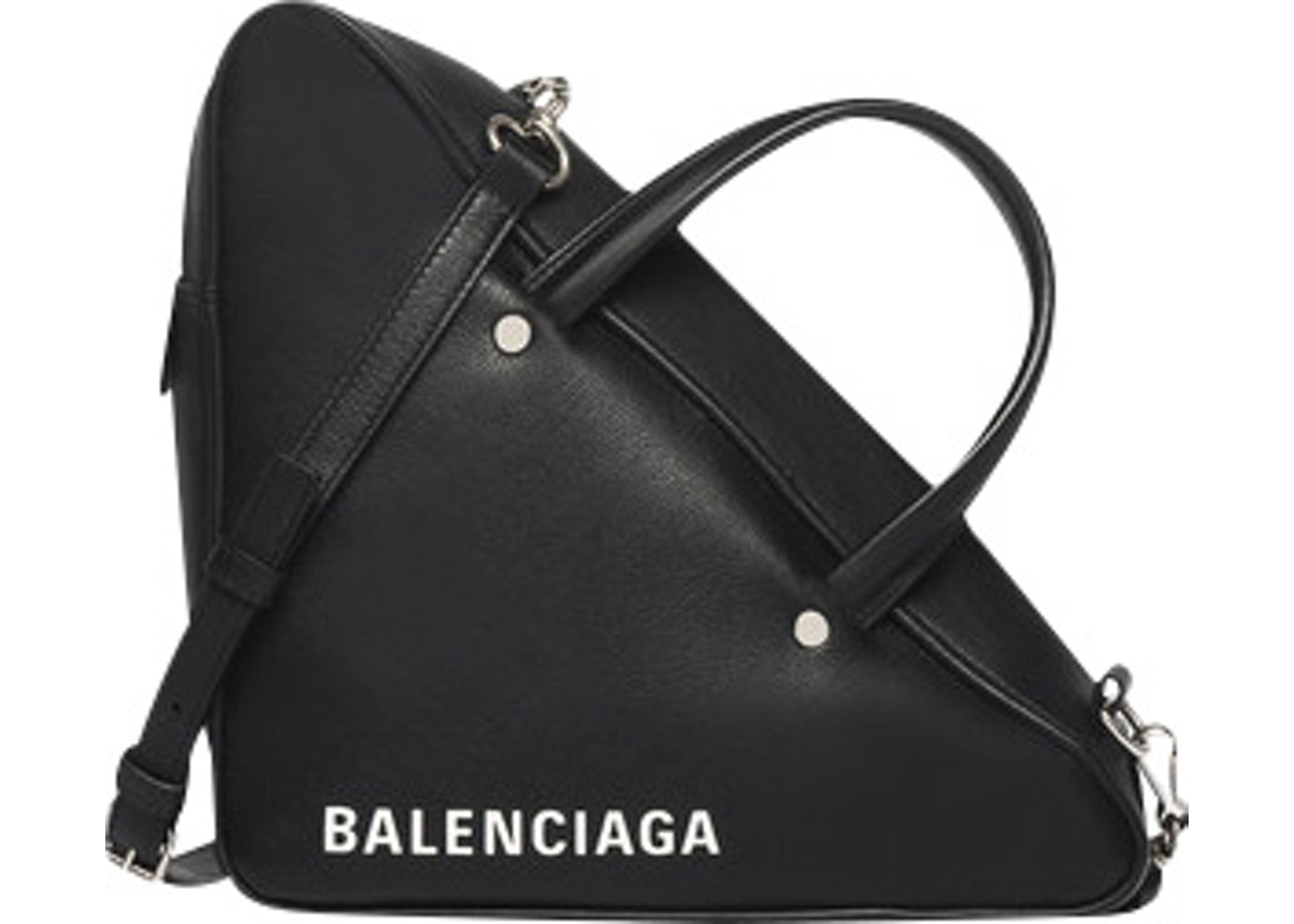 ac1efc14e7e7 Balenciaga Triangle Duffle XS Black. XS Black