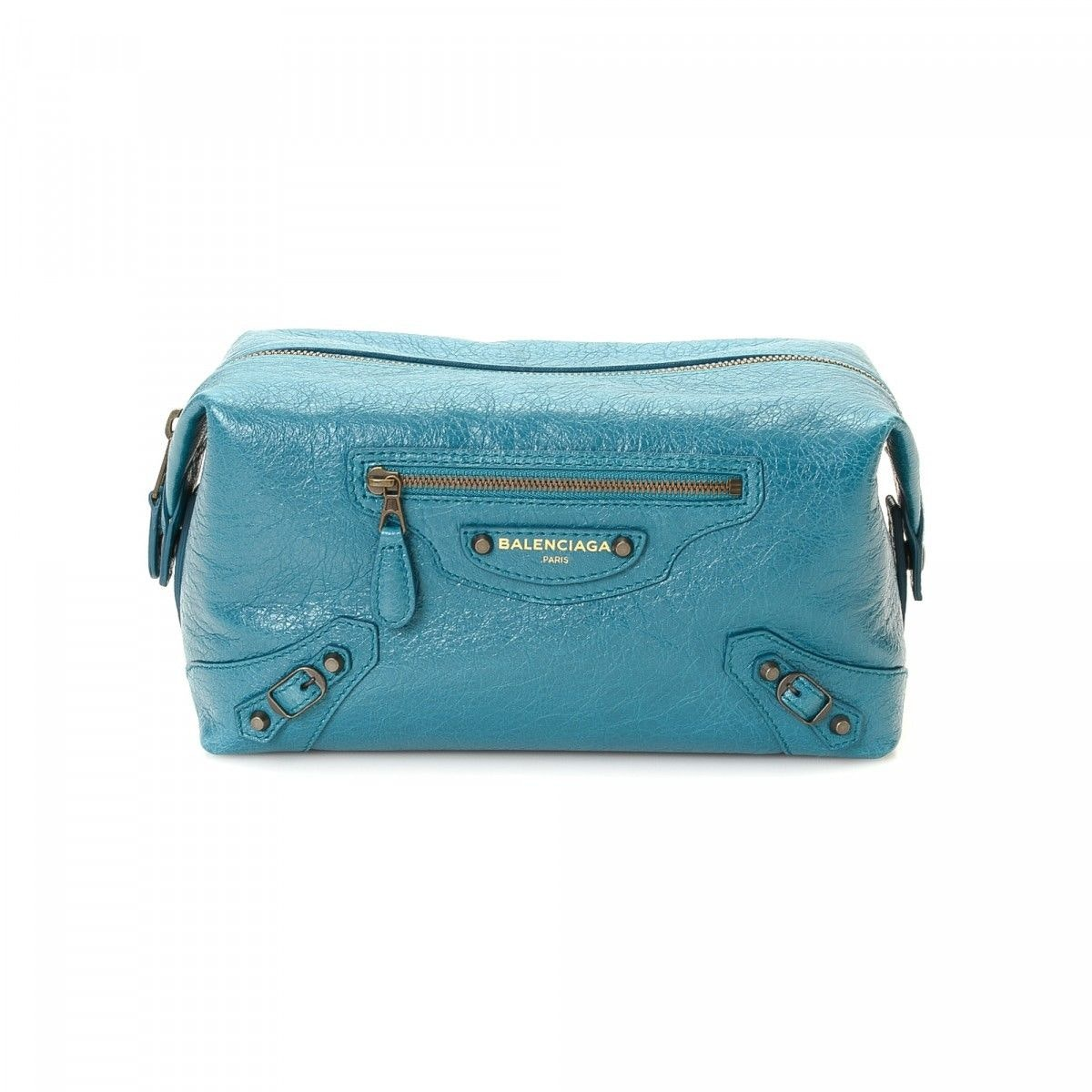 Balenciaga Trousse Vanity Case Blue