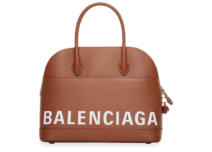 Balenciaga Ville Top Handle S Caramel