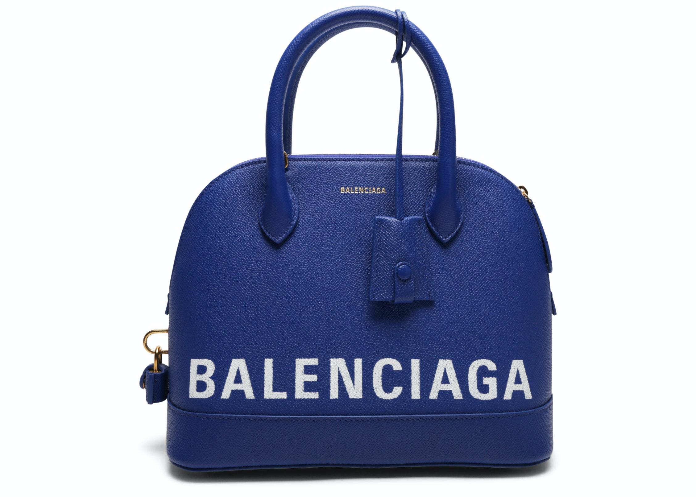 Balenciaga Ville Top Handle S Royal Blue