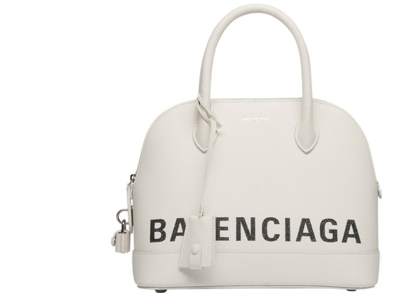 15505b8bebf4 lowest ask. $2,995 · Balenciaga Ville Top Handle S White/Black