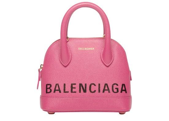 Balenciaga Ville Top Handle XXS Bubble Gum