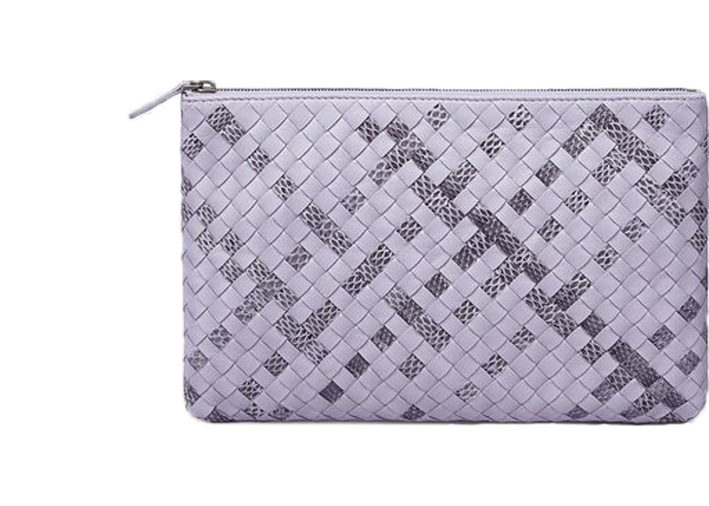 Sell. or Ask. View All Bids. Bottega Veneta Docuement Case Pouch Nappa Ayers  Oyster Intrecciato Water Snake ... 9e519052c9372