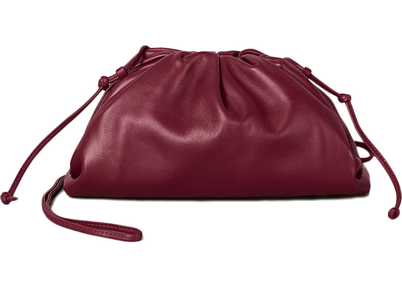Bottega Veneta The Pouch 20 Butter Calf Bordeaux