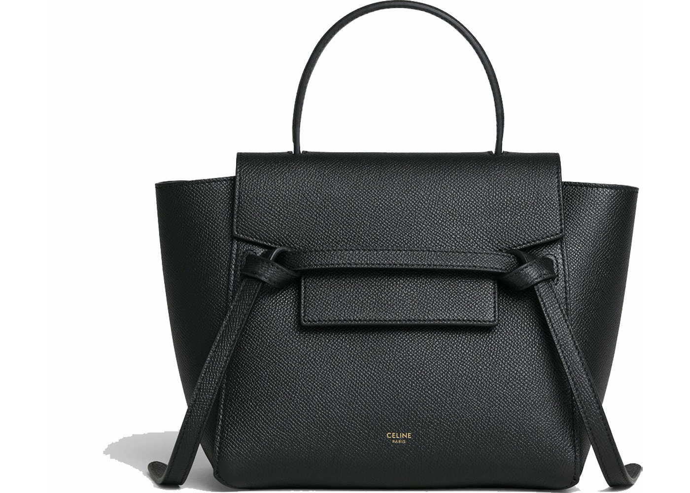 3fa8b71a3417 Celine Belt Bag Nano Grained Calfskin Black. Nano Grained Calfskin Black