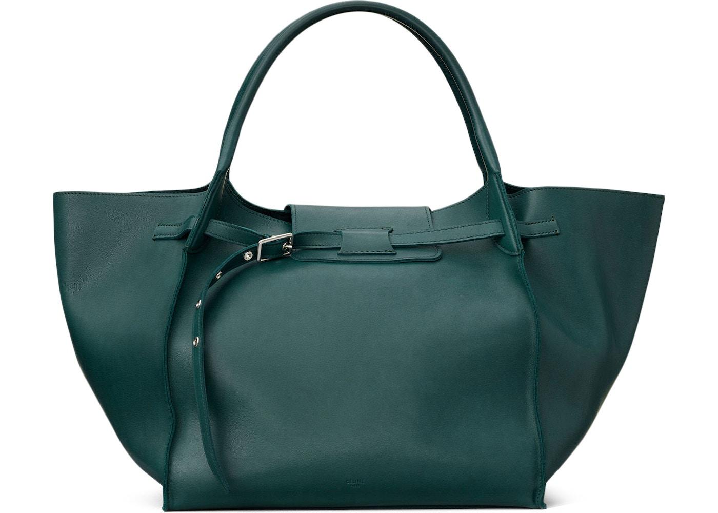 4345bf06fe Celine Big Bag Medium Dark Green. Medium Dark Green