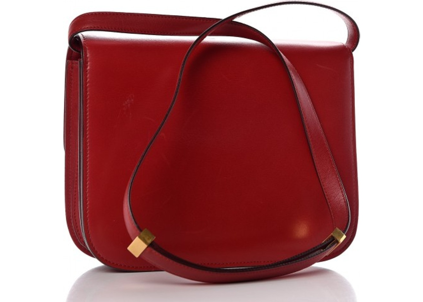 Celine Box Shoulder Bag Red 74d44e38b49fb