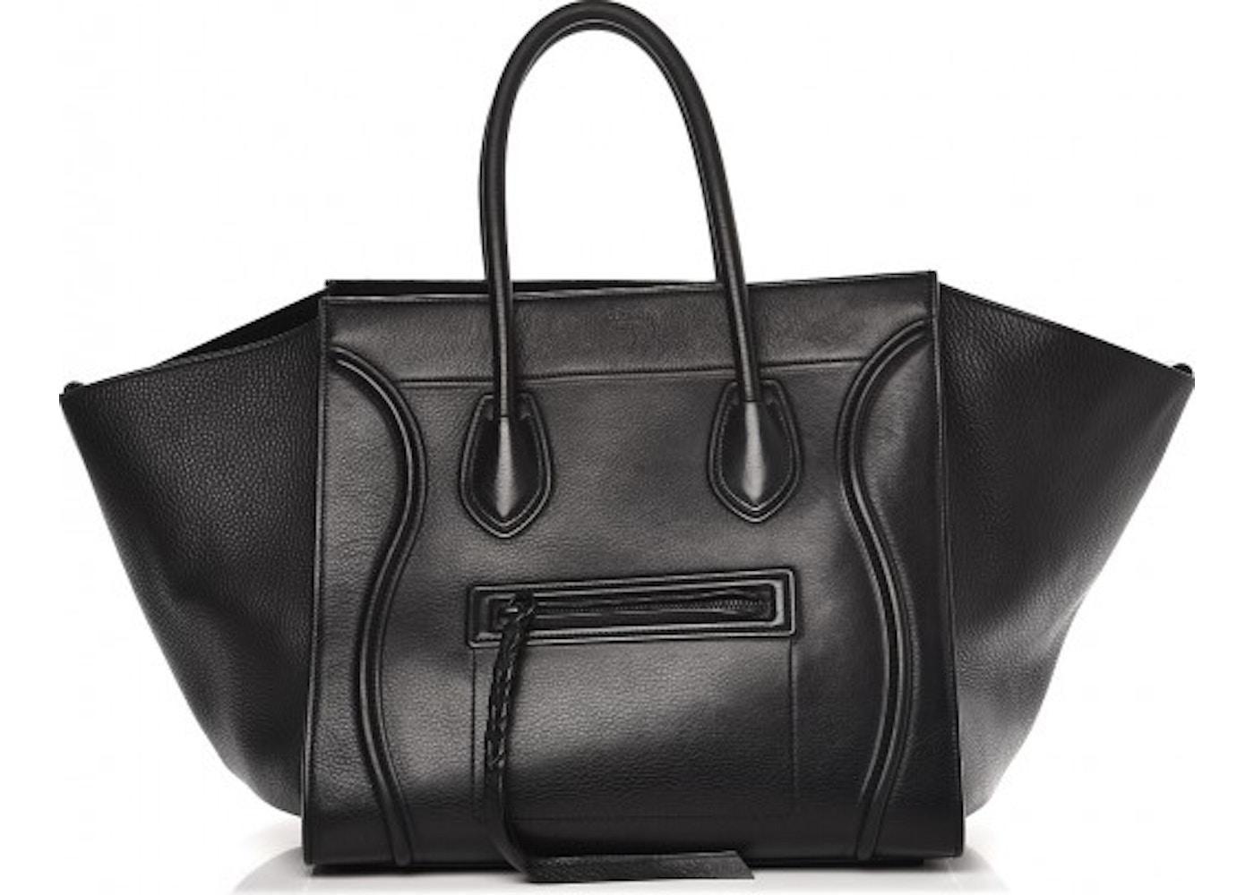 ce3358cfa363 Celine Cabas Phantom Luggage Medium Black. Medium Black