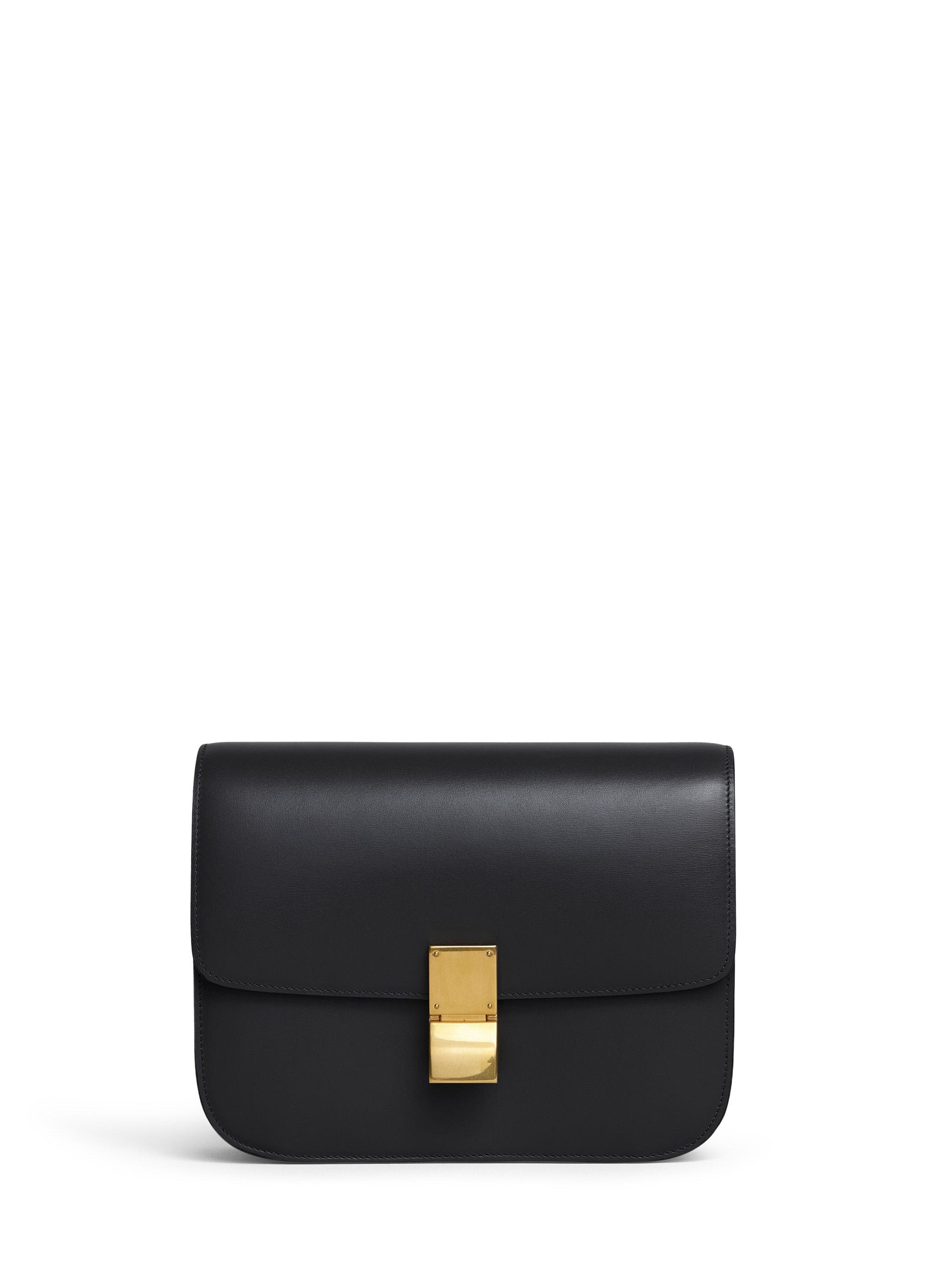 Celine Classic Box Medium Black