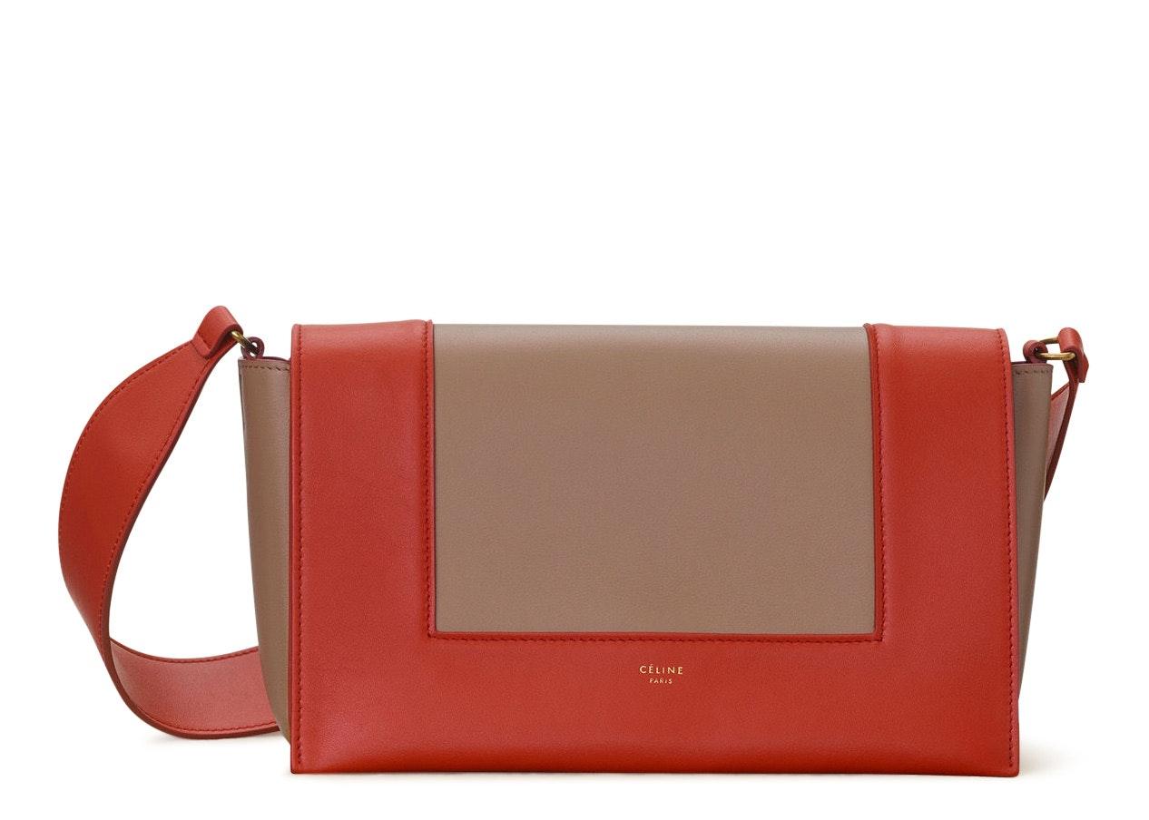 Celine Frame Medium Fox Red/Tan