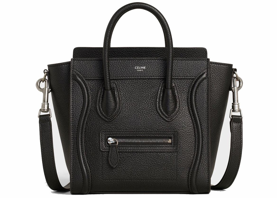 Celine Luggage Nano Black