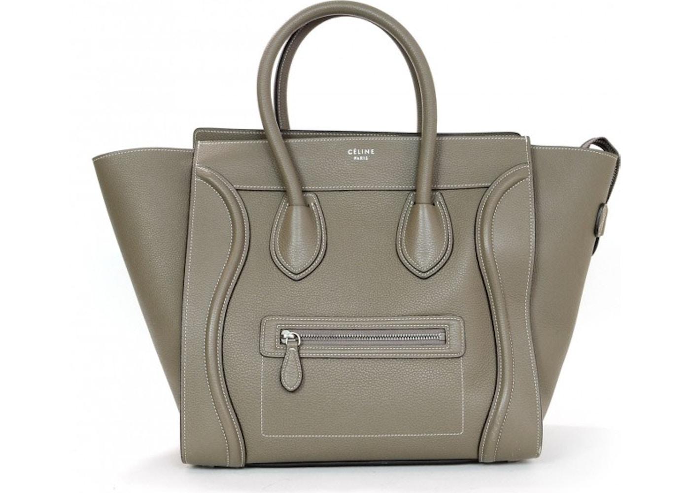 bd2fc5f374 Celine Luggage Tote Mini Souris Grey. Mini Souris Grey