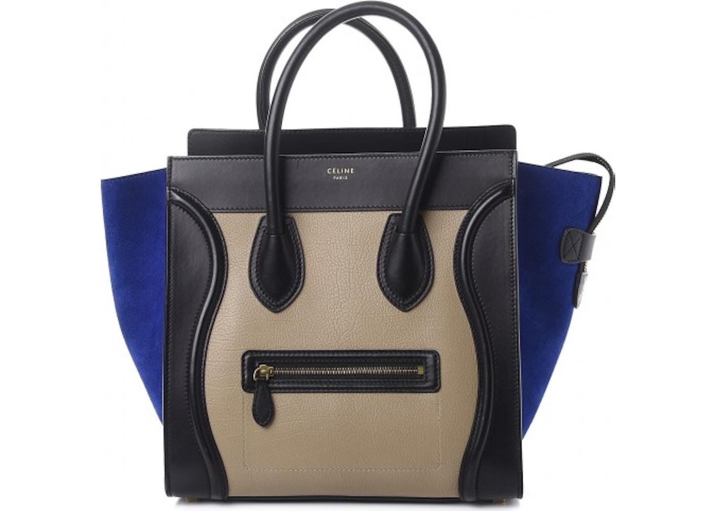d1ccbbc35a Celine Luggage Tricolor Mini Sand. Tricolor Mini Sand