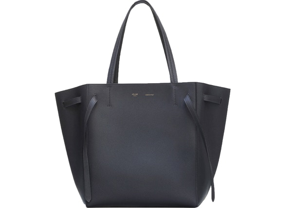d7ce29d5182d Celine Cabas Phantom Soft Grained Small Black
