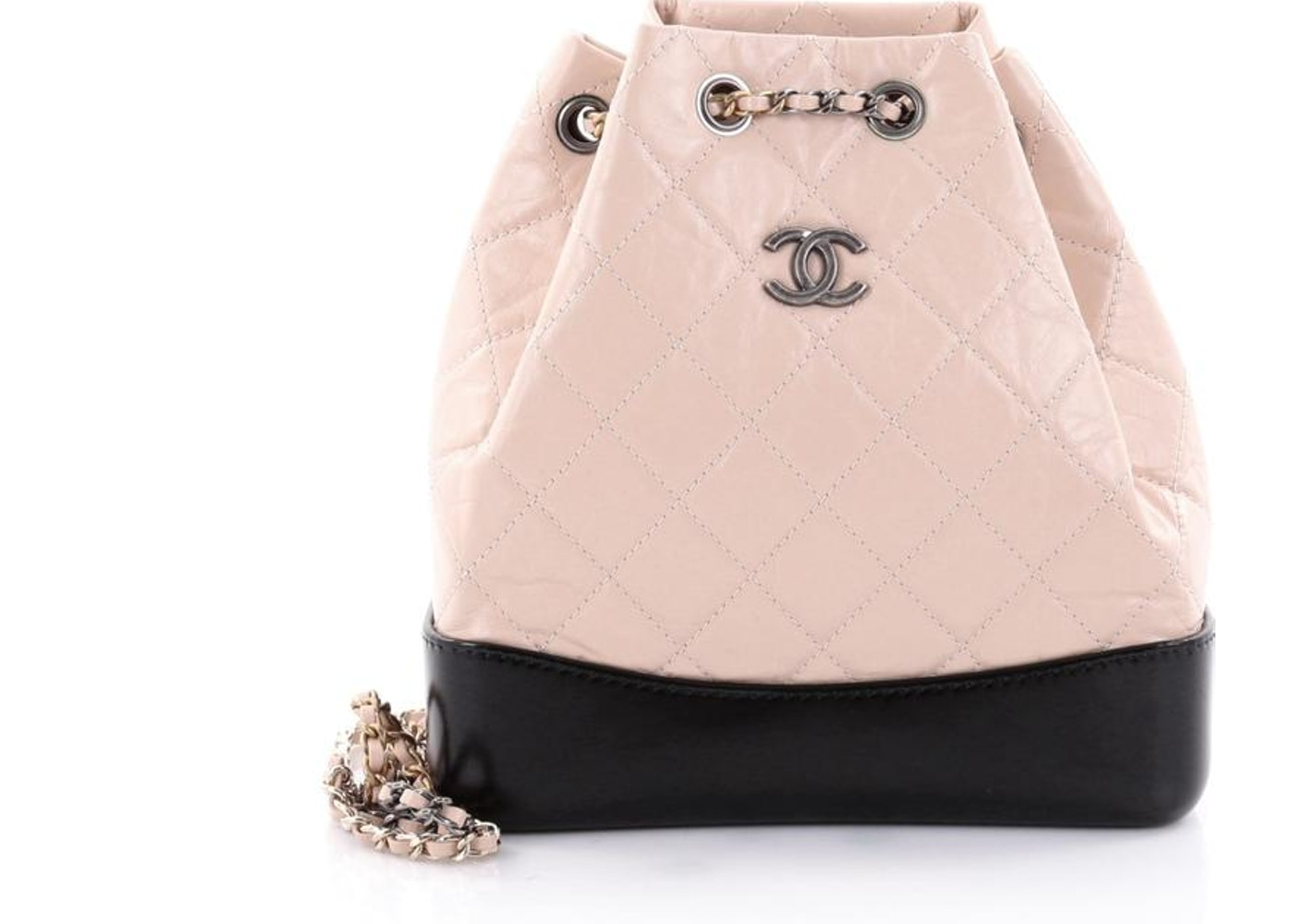 00c1e2ce2c3f Chanel Gabrielle Backpack Diamond Quilted Small. Diamond Quilted Small