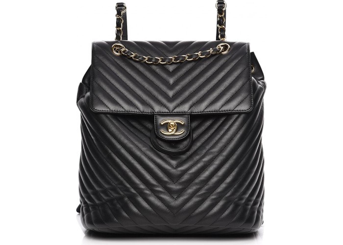 4bdf9dece189 Chanel Urban Spirit Backpack Chevron Quilted Large. Chevron Quilted Large