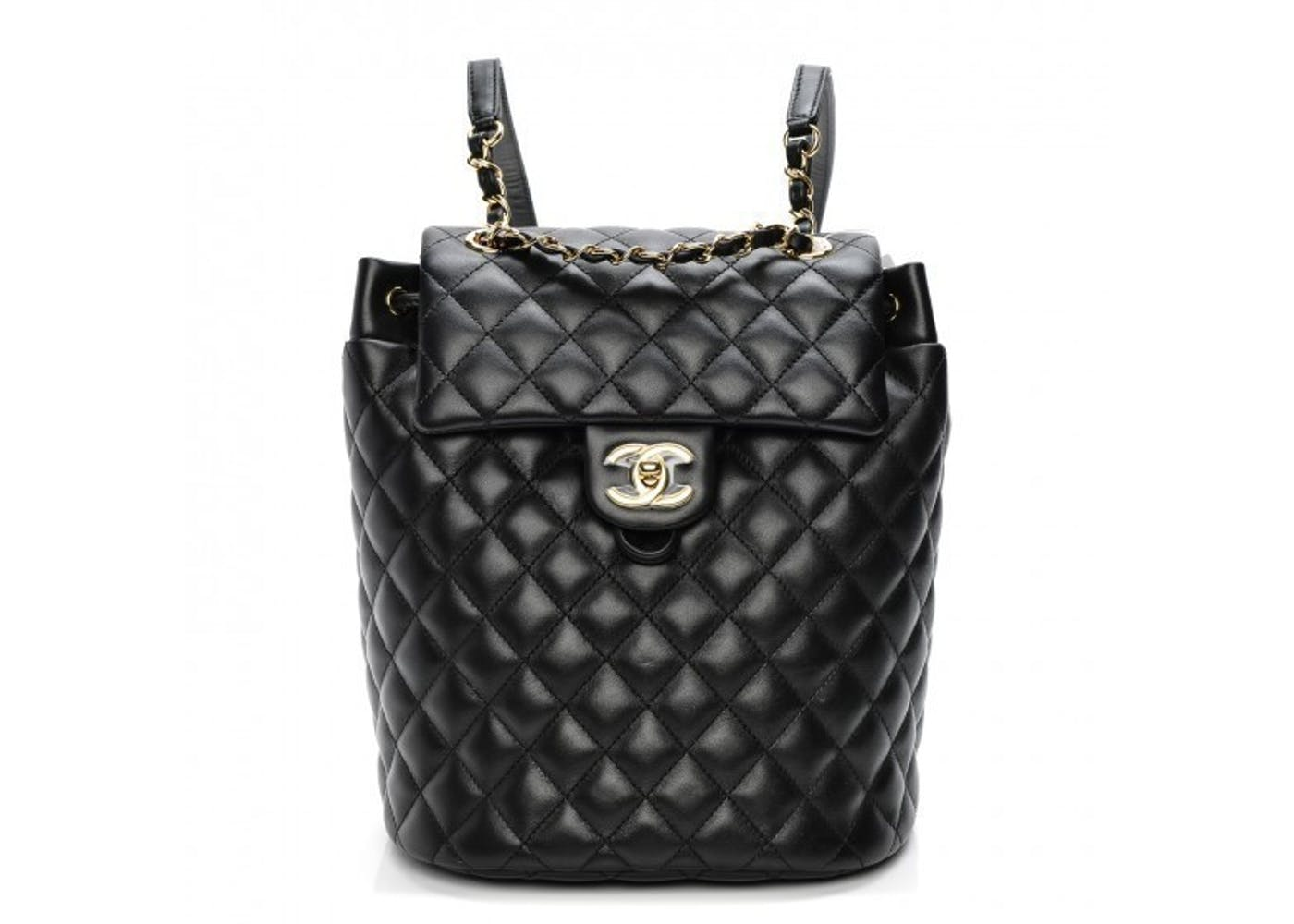 Urban Spirit Backpack Diamond Quilted Small Black : chanel quilted small bag - Adamdwight.com