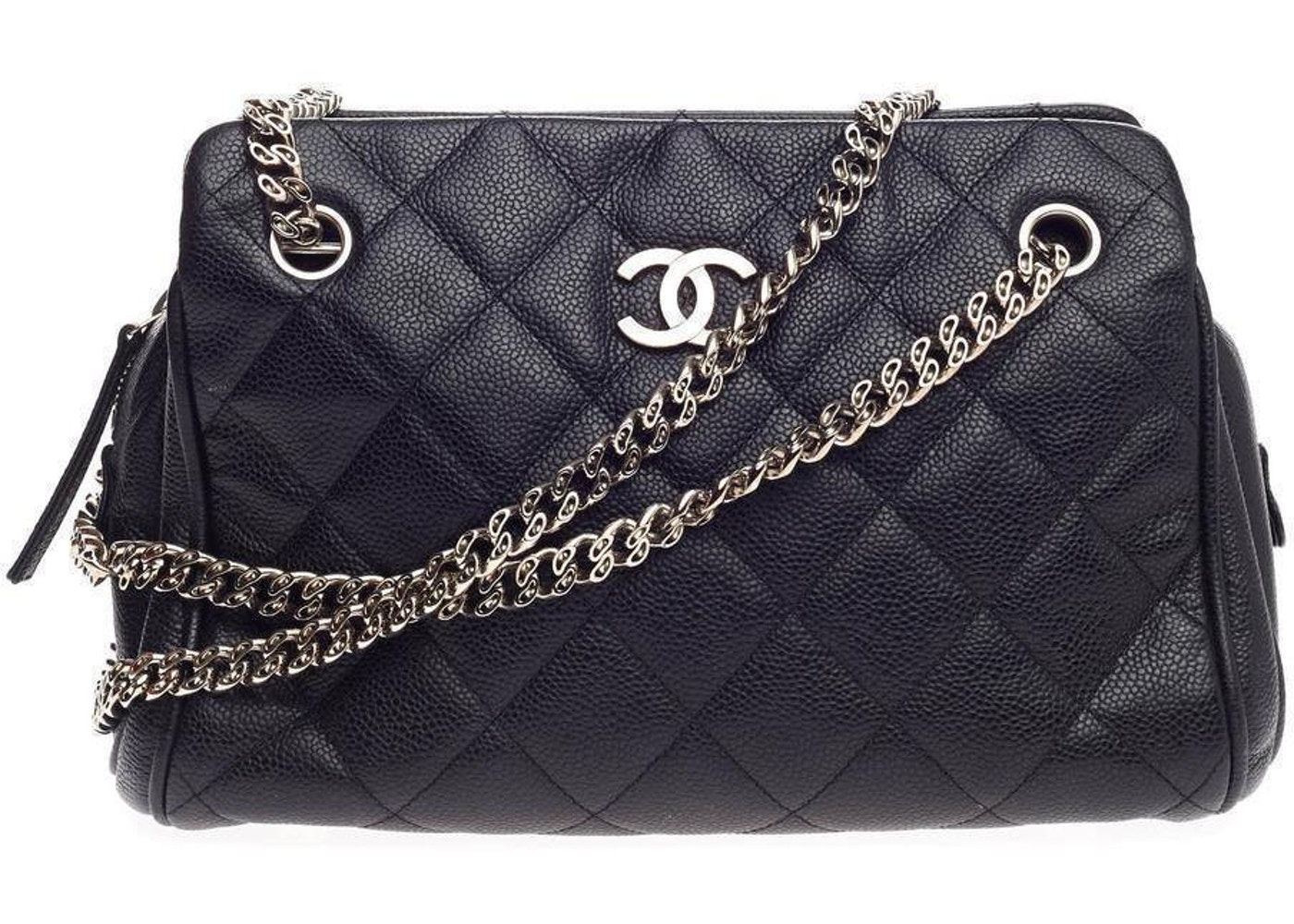 Chanel Tote Quilted Bijoux Chain Small