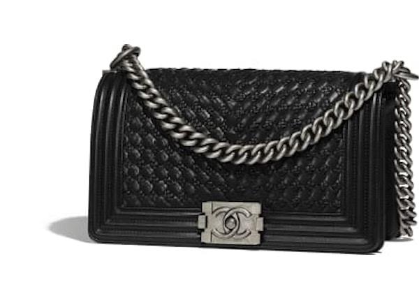 446171d257e1 Chanel Boy Handbag Pre-Fall 2018 Black