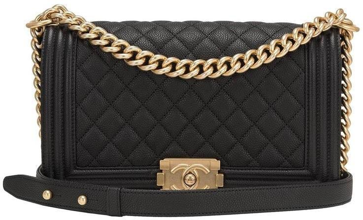 Chanel Boy Flap Quilted New Medium Black
